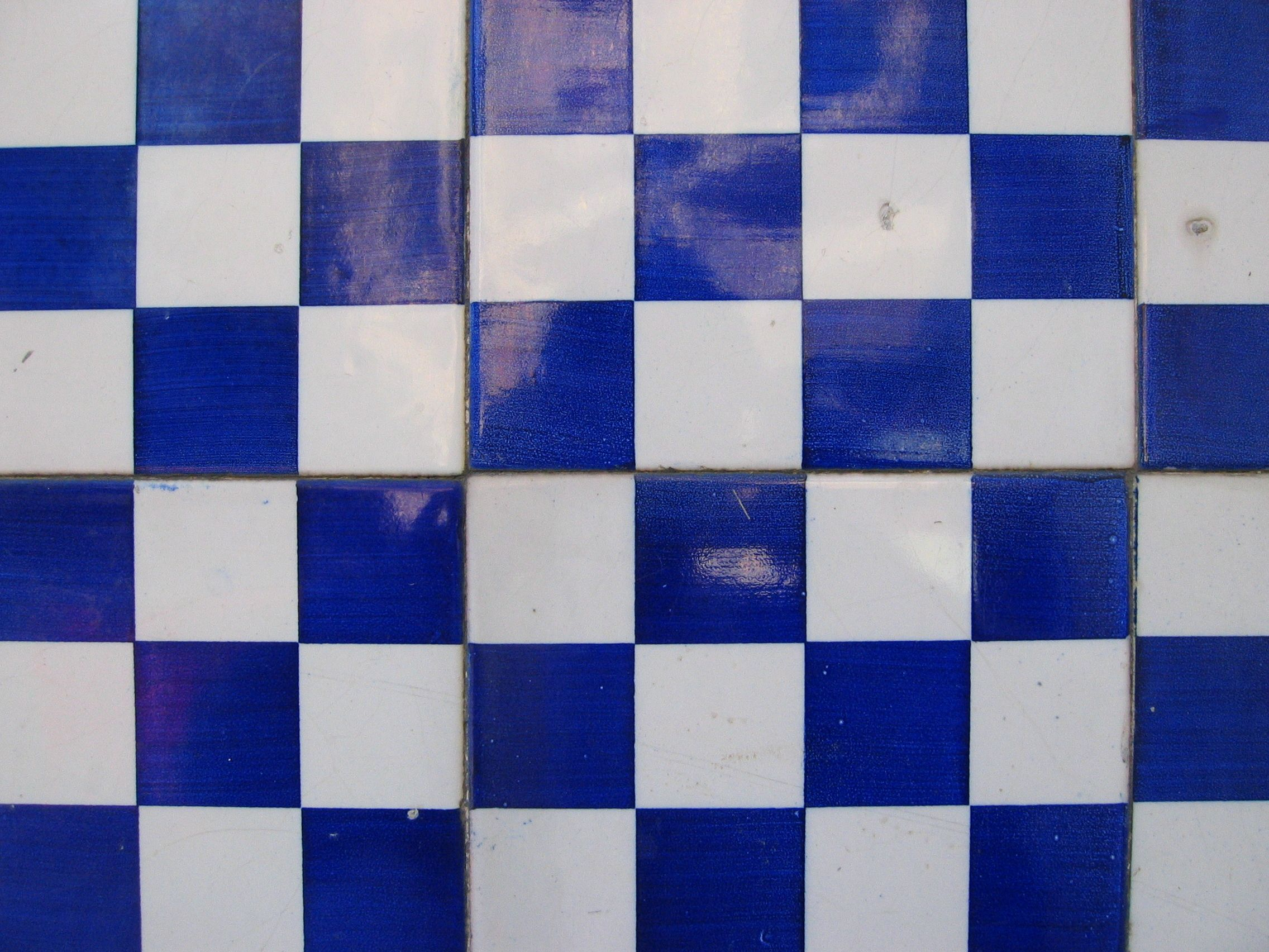 For Blue And White Tile Texture Blue White