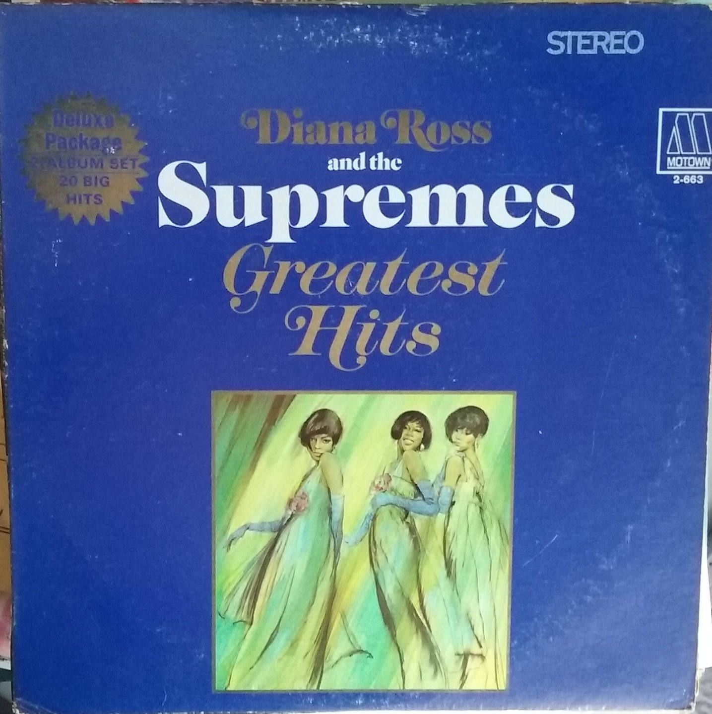 Diana Ross And The Supremes Greatest Hits Double Album Vintage Record Album Vinyl Lp Classic Pop Music Motown Rhythm And Diana Ross Motown Greatest Hits