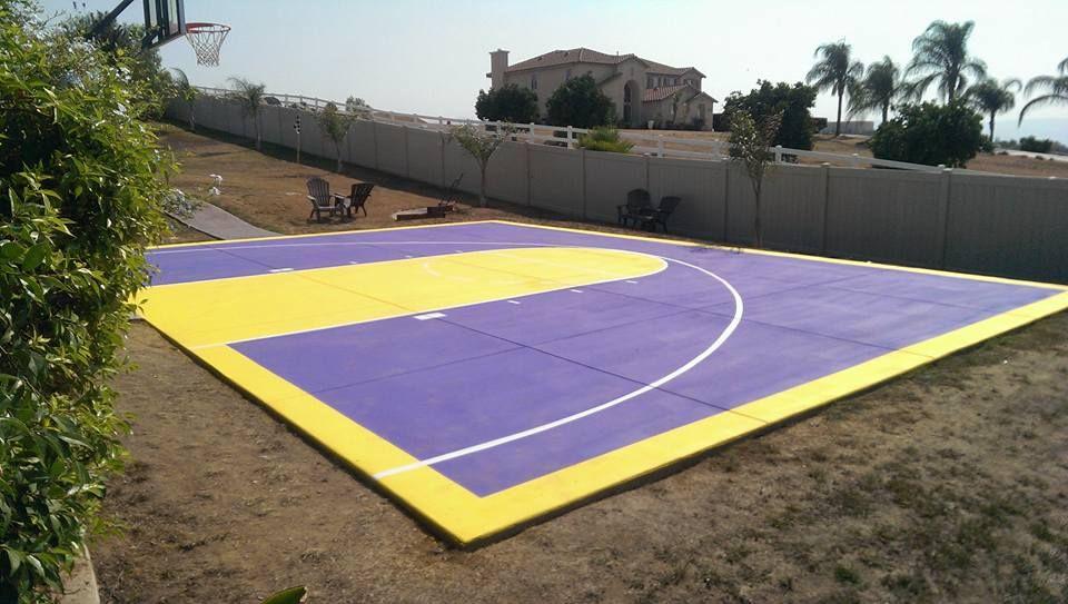 Basket ball court striping parking lot striping tennis