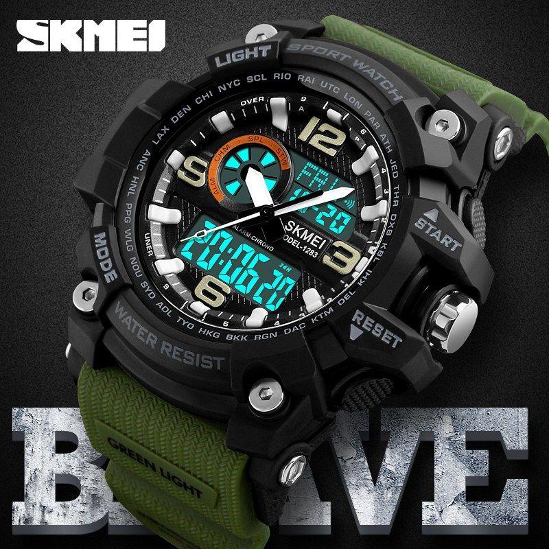 Military Sport Watch Men Waterproof Quartz Electronic Wrist Watch Wrist Watch Boys Watches Waterproof Watch