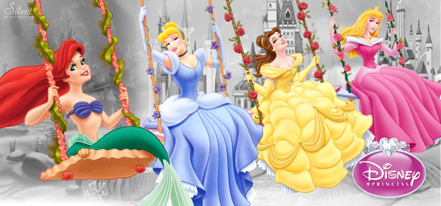 Disney Princesses Royal Fun By Silentmermaid21 On Deviantart Walt Disney Princesses Disney Princess Pictures Disney Princesses And Princes