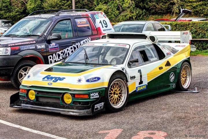 Ra Pat Doran S Rallycross Ford Rs200 Evolution Ford Motorsport Rally Car Ford Racing