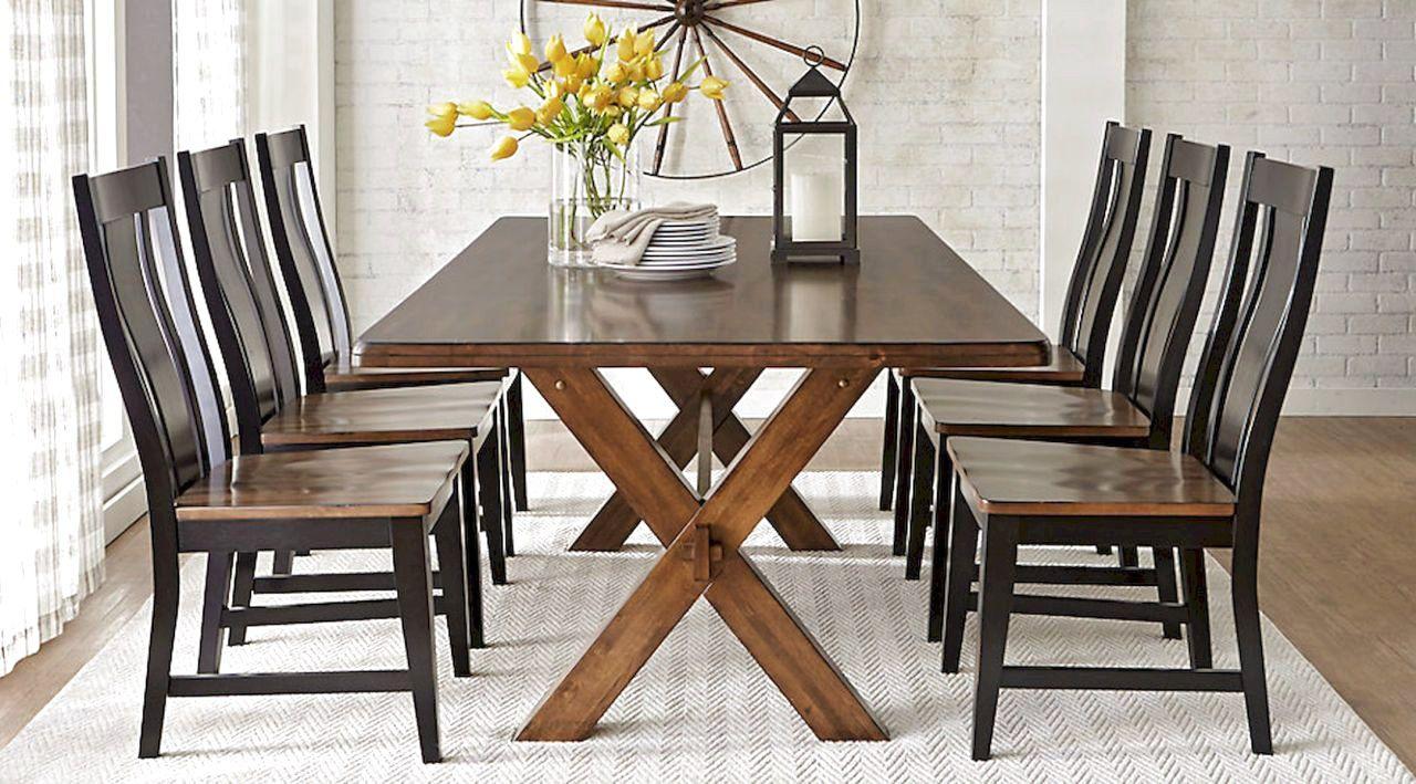 54 modern farmhouse dining room table ideas decor and