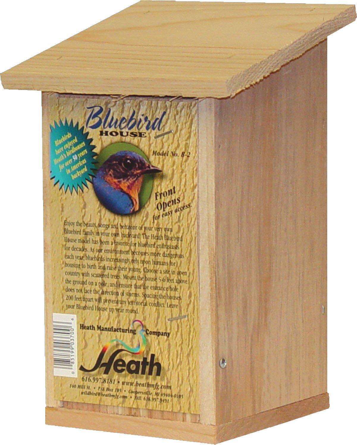 Heath Mfg Co P-Bluebird House- Brown | Products | Pinterest ...