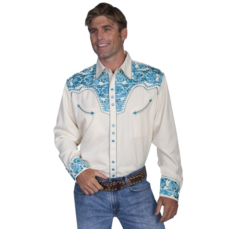 3bf38d7d3f2 Men's Contemporary Western Button Front Shirts. Traditional cowboy ...