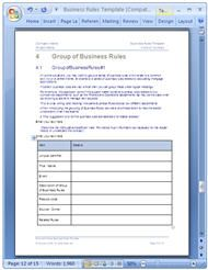 Business rules template word business writing pinterest business rules template word cheaphphosting Gallery