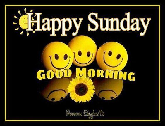 Happy Sunday Good Morning Days Of Week Happy Sunday Morning