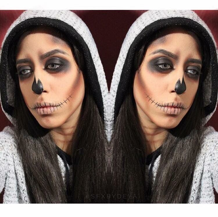 Sfxbydeya halloween makeup sfxmakeup diy bodypainting sfxbydeya halloween makeup sfxmakeup diy bodypainting skullmakeup skullface solutioingenieria Images