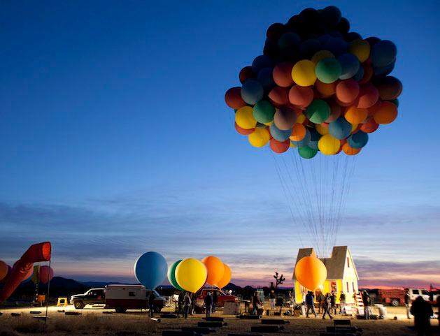 Curiosity Corner Balloon House Balloons Film Up