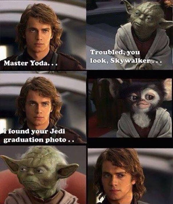 24 Of The Best Star Wars Memes Ever Star Wars Humor Funny Star Wars Memes Star Wars Memes