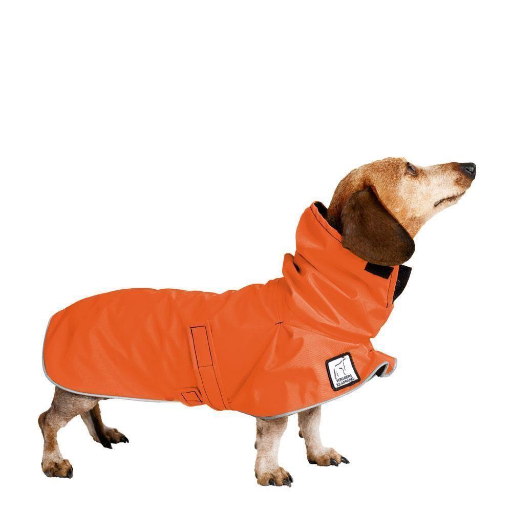 Miniature Dachshund Rain Coat Waterproof Dog Coats Miniature