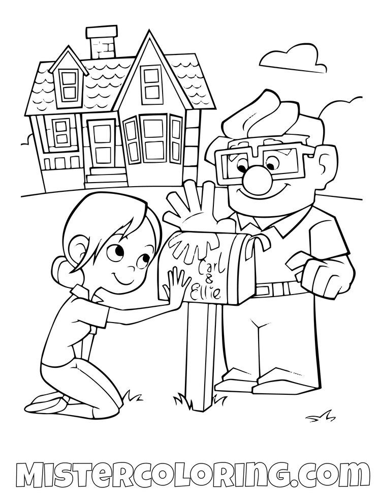 Up Coloring Pages For Kids Mister Coloring Disney Coloring Pages Grinch Coloring Pages Coloring Pages
