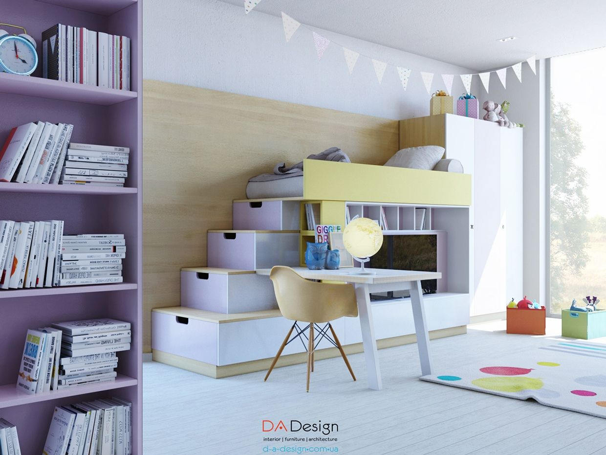 Designing A Beautiful Kids Room Can Be A Challenge Because It - Colorful kids room designs with plenty of storage space