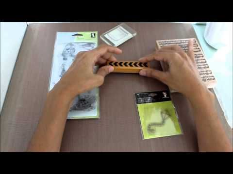 Scrap Space da Lelé: [Quinta das Ferramentas, Materiais e Técnicas]: Tipos de Carimbos