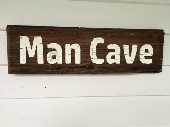 Michigan Man Cave Signs : One in stock man cave sign. made from and 119 year old barn