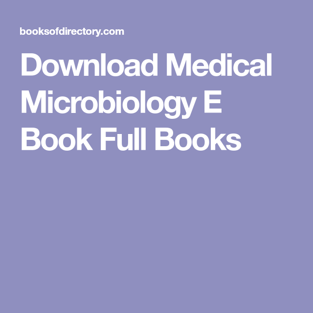 Download medical microbiology e book full books books to download download medical microbiology e book full books fandeluxe Choice Image
