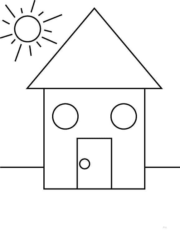 Actividades para ni os preescolar primaria e inicial - Plantillas pintar ninos ...