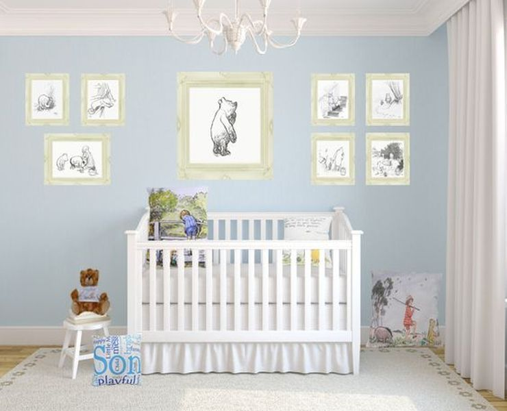 Disney Theme for Kids Room, Why Not? Winnie the pooh
