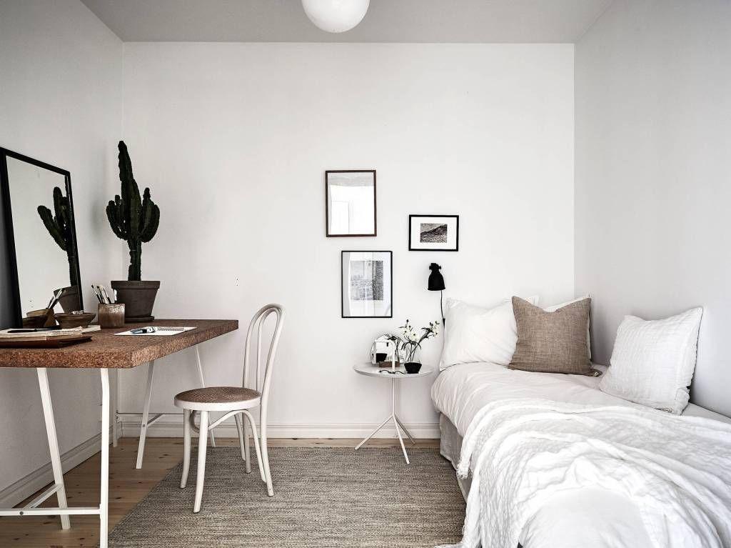 White Home With Warm Details Zimmer Einrichten