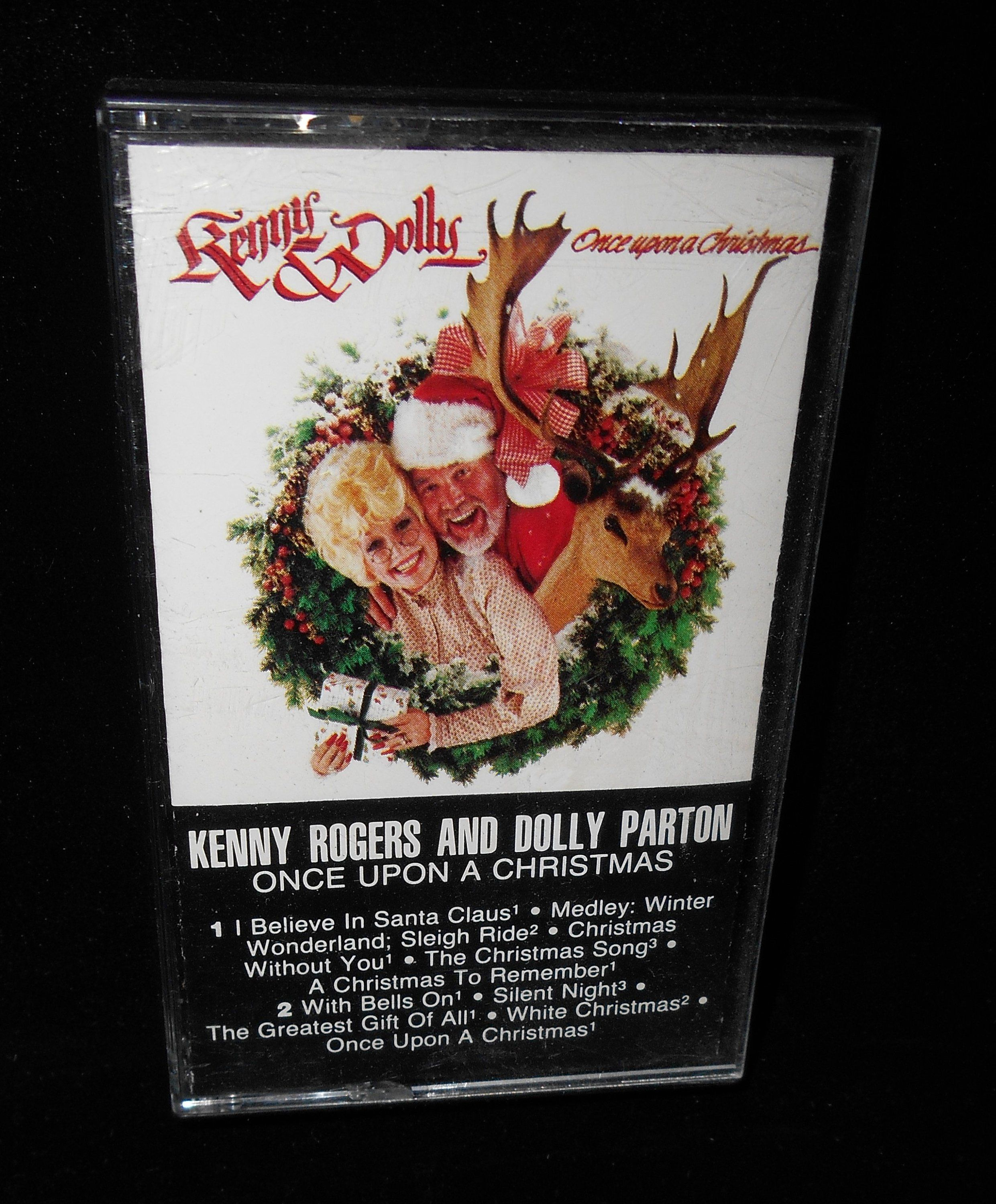 Dolly Parton Kenny Rogers Once Upon a Christmas by Cassette 1984 RCA ...