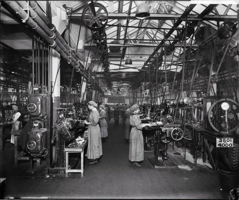 The Birmingham Small Arms Company (BSA) Factory Was