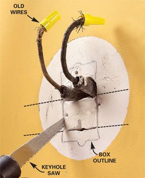 How to Connect Old Wiring to a New Light Fixture | Old House ... Old House Light Wiring on wire house lights, blue house lights, wiring ceiling fans, hardware house lights, battery house lights, interior house lights, security house lights, roof house lights, control house lights, wiring a switch, wiring single pole light switch,