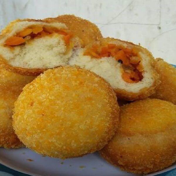 Roti Goreng Isi Sayuran Sederhana Rotis Makanan Dan Minuman Resep Makanan