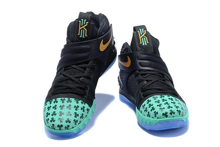 "sports shoes e7dce c58ae Nike Kyrie S1 Hybrid ""Celtics"" PE Shamrock Black Green Gold   Air Jordans  2018"