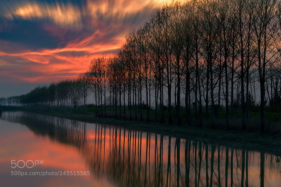 Canal's reflections by RobertoMelotti. Please Like http://fb.me/go4photos and Follow @go4fotos Thank You. :-)