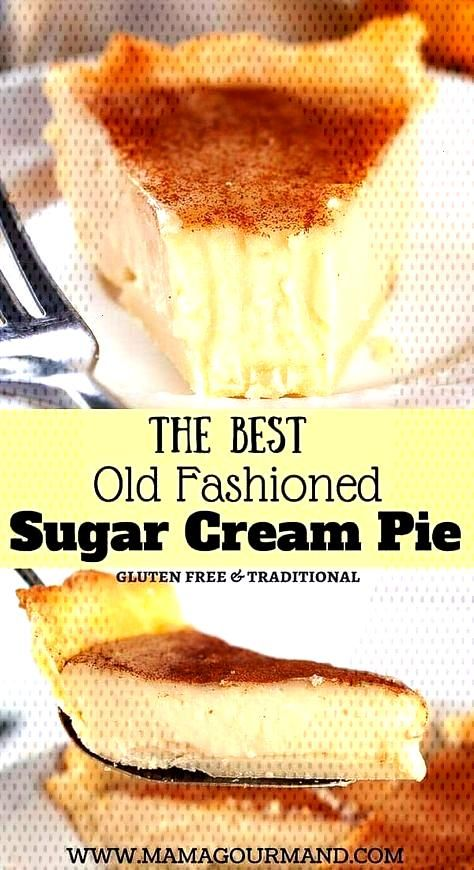 Sugar Cream Pie, also known as Indiana or Hoosier Pie, is filled with a glorious... - recipes -