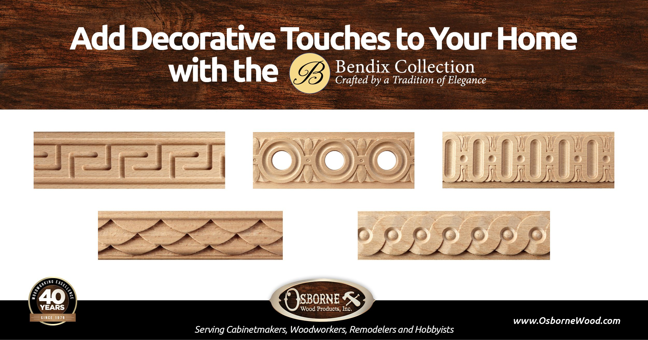 Learn More About Our Bendix Moulding And Trim Collection At Www Osbornewood Com Bendix Moudling And Trim Aspx Moldings And Trim Wood Molding Trim Wood Decor
