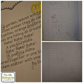 Mrs. Wills Kindergarten: Interactive Poetry Notebooks in Kindergarten? Check! and a FREEBIE
