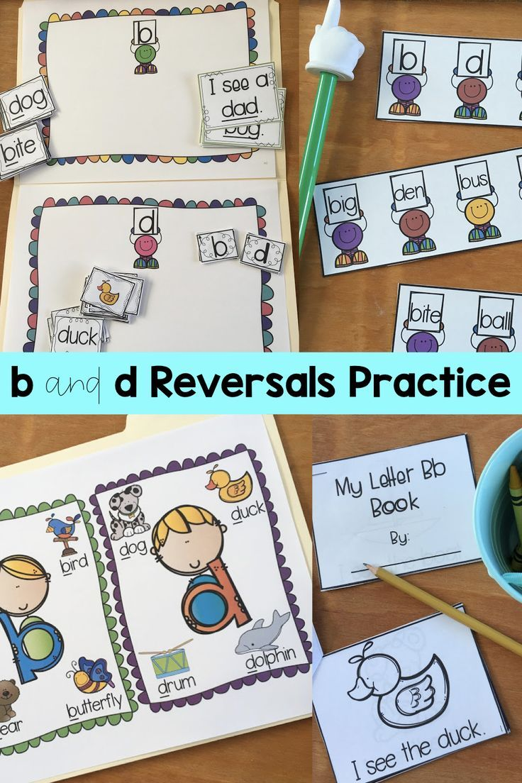 b and d Reversals Pack