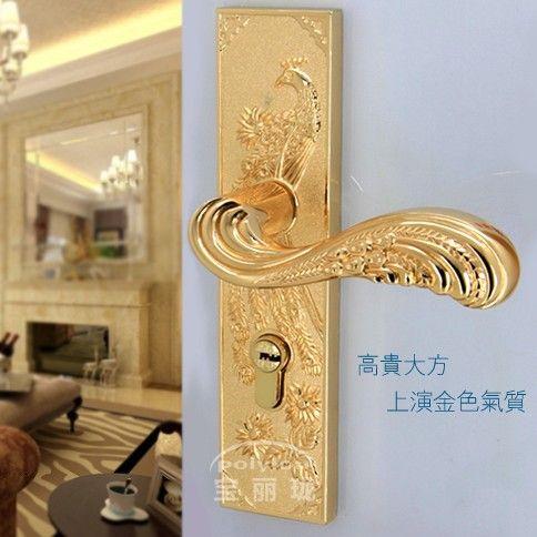 Gold Door Lock Handle Door Levers Out Door Furniture Dooru2026