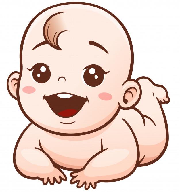 Descubre Miles De Vectores Premium Disponibles En Formato Ai Y Eps Descarga Lo Que Quieras Cancela Cu Dibujo Bebe Niña Caricatura De Bebé Ilustración De Bebé