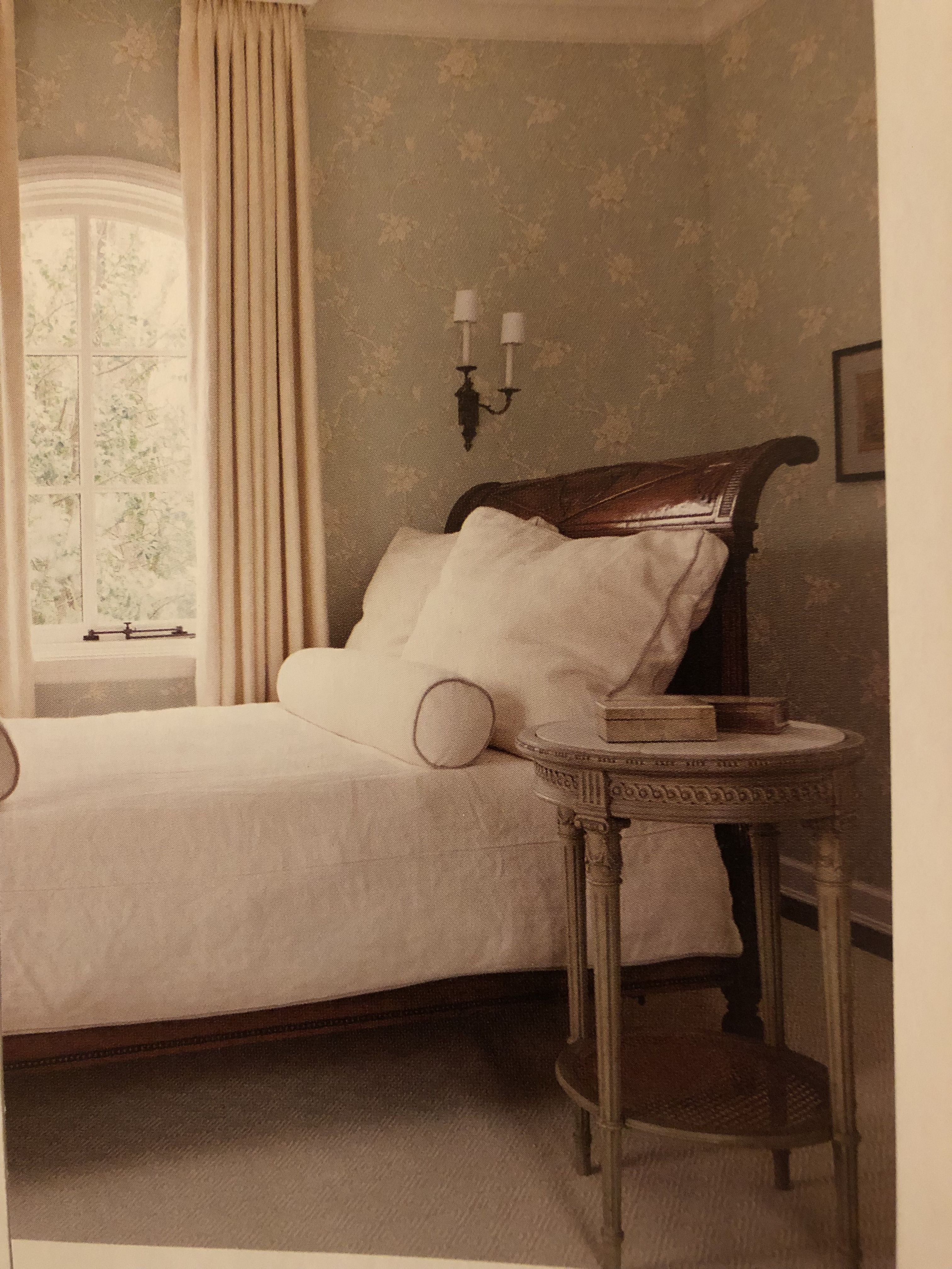 Bed moved away from wall home staging inspiration pinterest