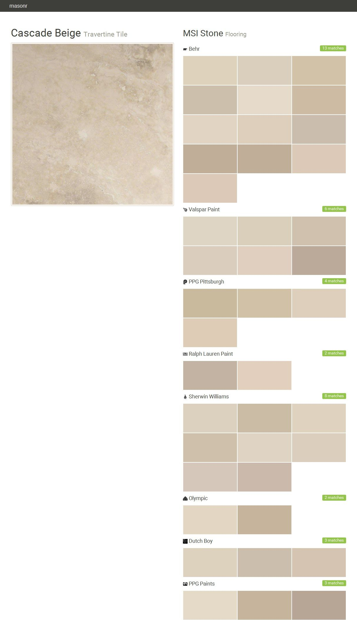 Tile Msi Stone Beige Paint Colors Beige Tile Matching Paint Colors