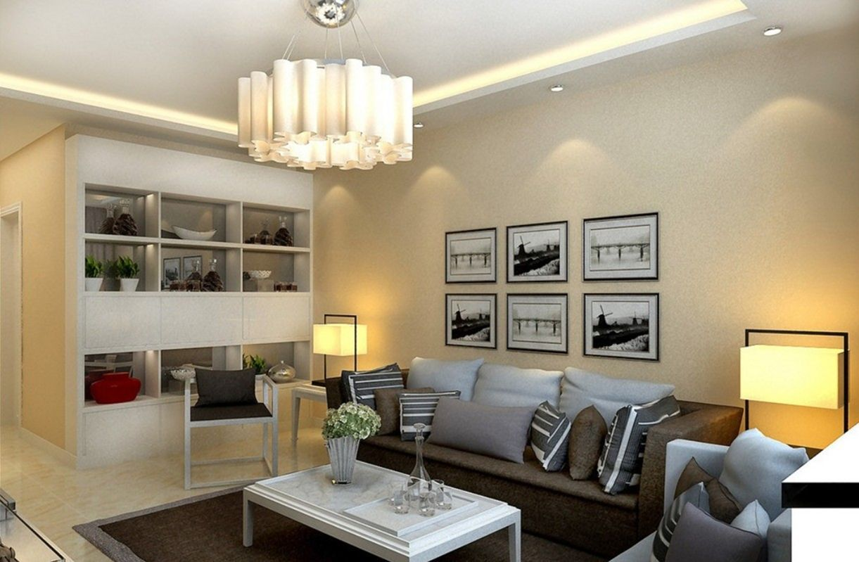 20 Extraordinary Modern Living Room Lighting Ideas For