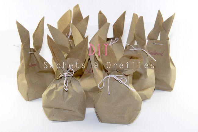 Comment faire des sachets oreilles de lapins pour - Fabriquer des sachets de the ...