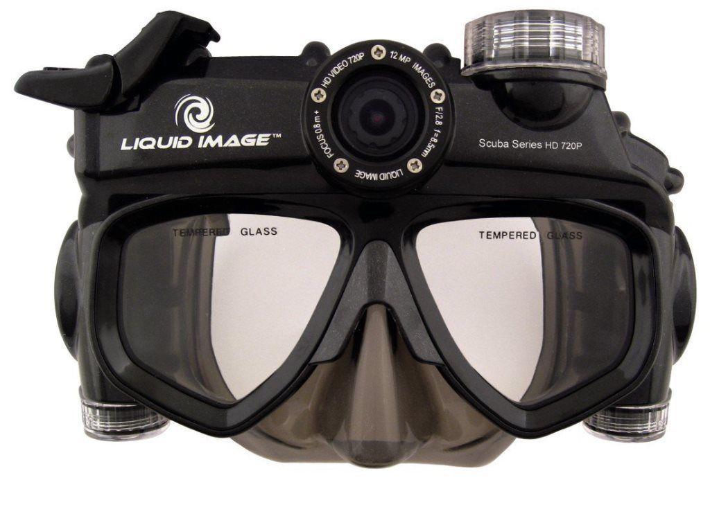 Liquid Image Scuba Series HD 720P Taucher Maske Kamera ...