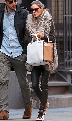 olivia palermo working those uptowns. :)