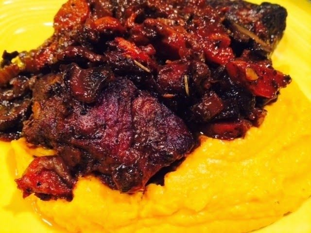 Lindsey's Luscious: Braised Chuck Roast and Short Ribs