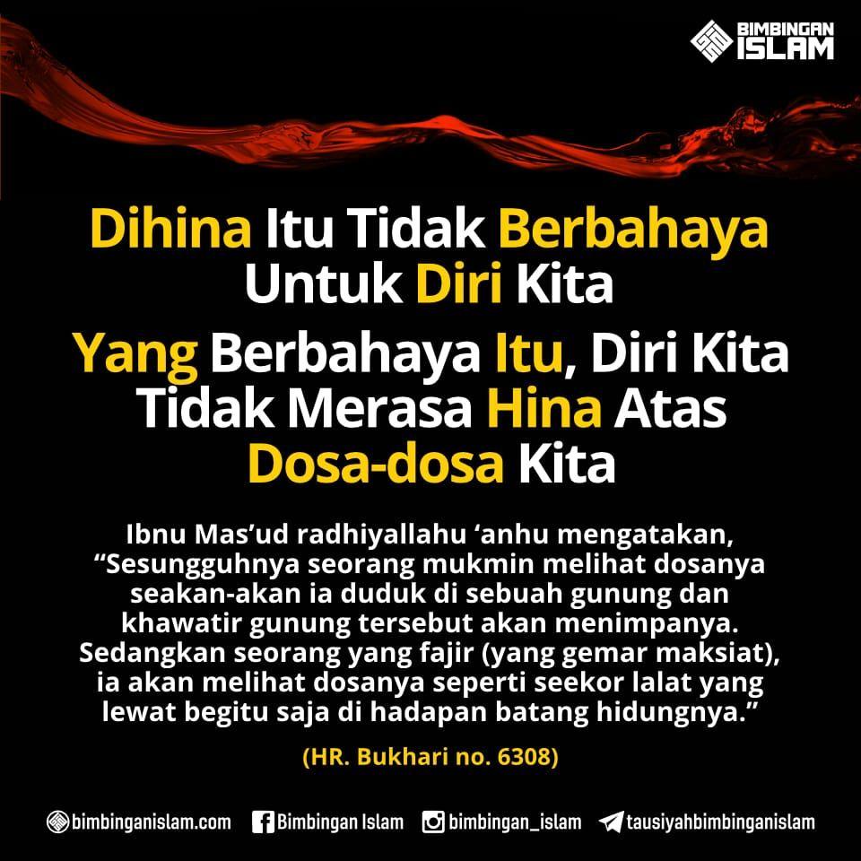 Dihina Itu Tidak Berbahaya Untuk Diri Kita Islam Kata Kata
