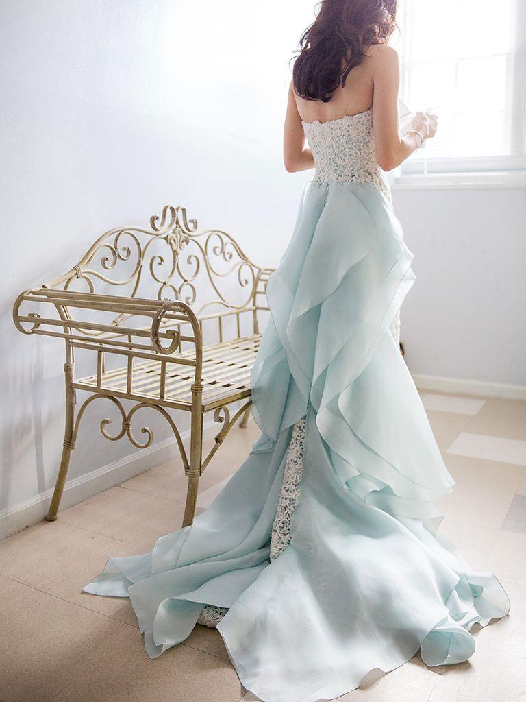 dreamy blue wedding dresses dresses pinterest blue wedding