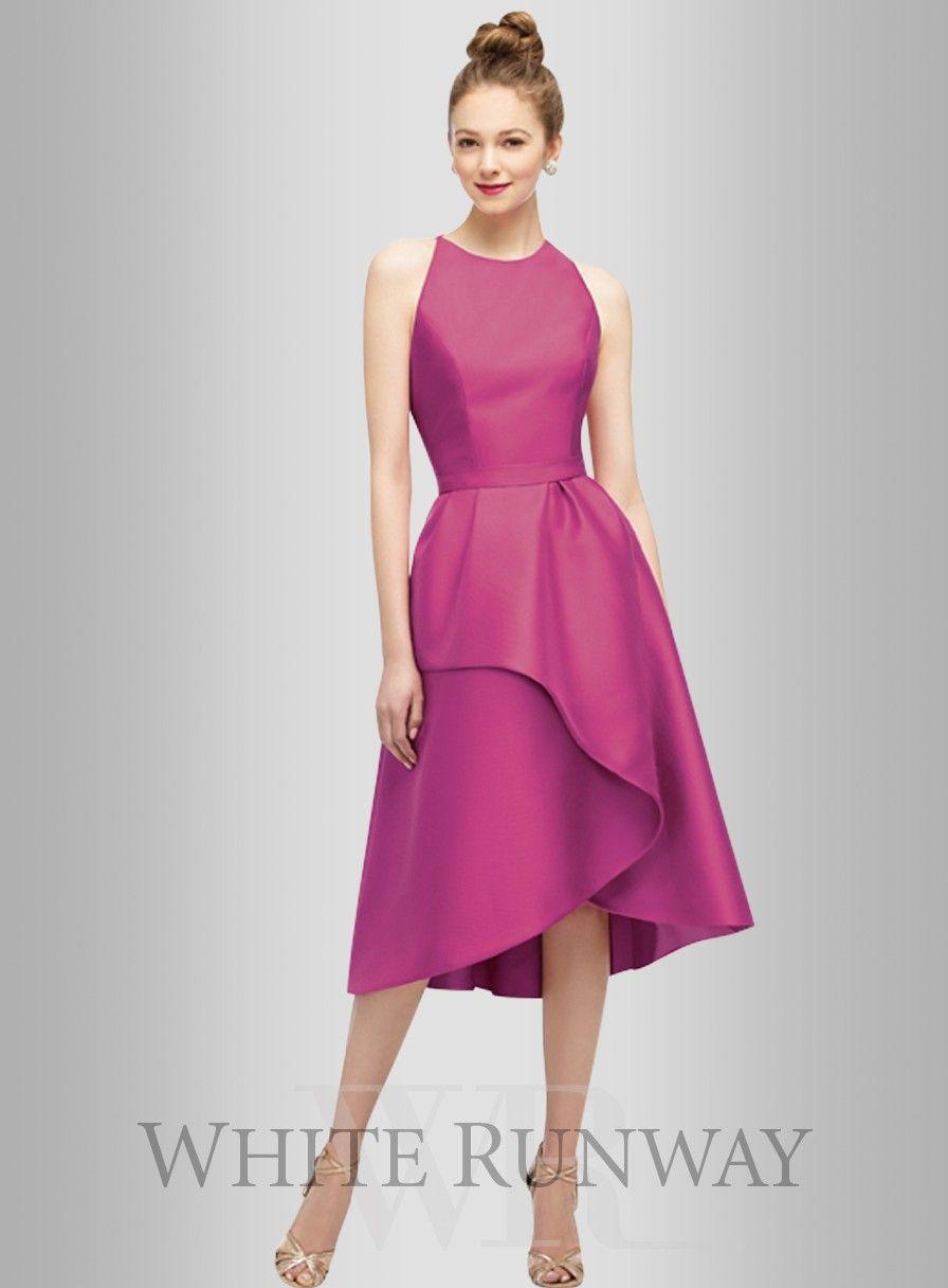 Gina Dress by Lela Rose. A stunning tea length dress by Lela Rose. A ...