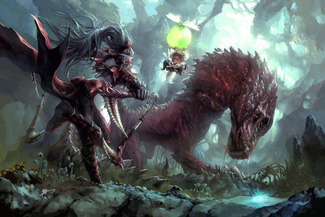 Lurker In The Darkness By Koloromuj On Deviantart Monster Hunter Series Monster Hunter Art Monster Hunter World