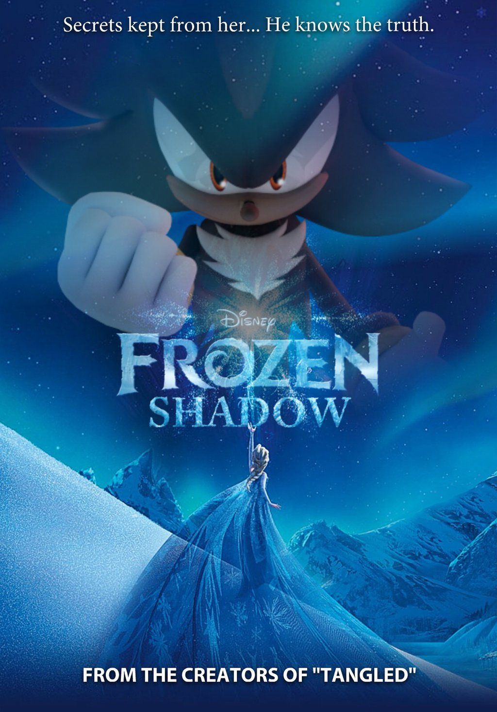Frozen Shadow (Traditional Poster) by Ultimate-Xovers ..... OH GOD ...