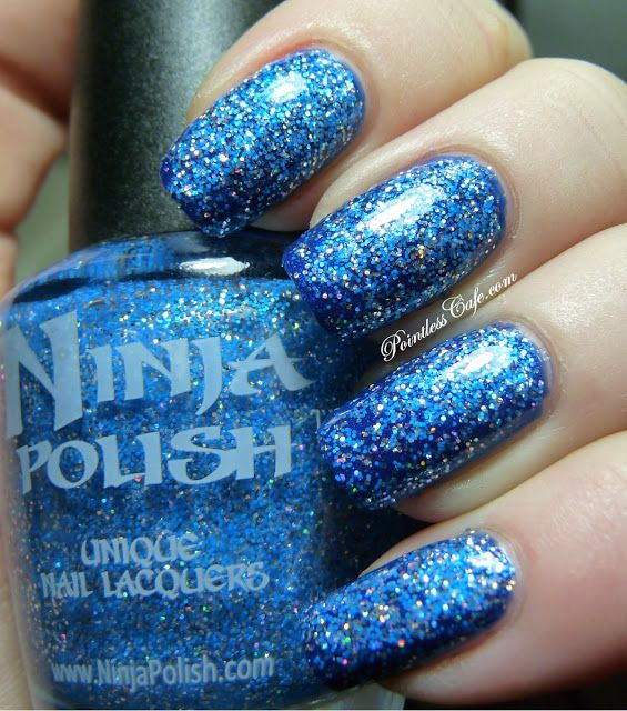 Ninja Polish - Hanukkah Floam (Holiday 2012)