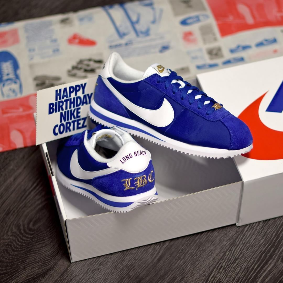 d14a04f347fc05 Nike Cortez 45th Anniversary - Long Beach California .  Disponible Available  SNKRS.COM