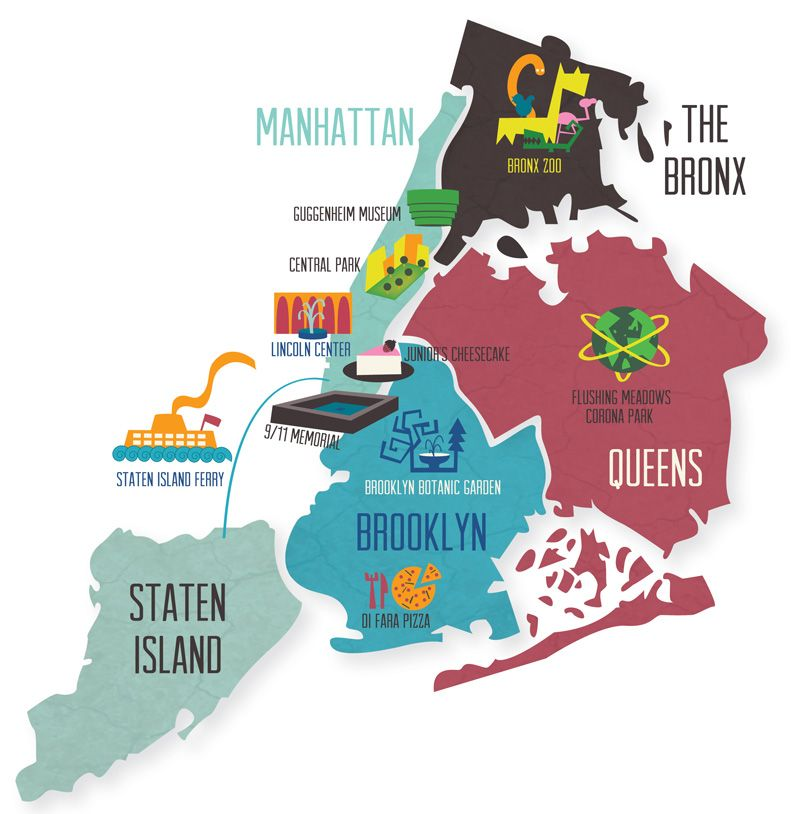 New York Map Team Oktopus Map Of New York Map Staten Island